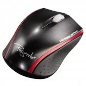 Mouse wireless HAMA Pequento 2 laser negru/rosu