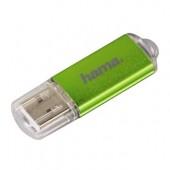 Stick USB HAMA Laeta 64GB 10 MB/s verde
