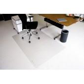 Protectie podea pentru covoare forma O 180 x 120cm RS OFFICE EcoBlue
