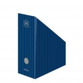Suport vertical din carton albastru HERLITZ Montana