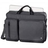 "Geanta laptop HAMA Hailfax 15.6"""" politex negru"