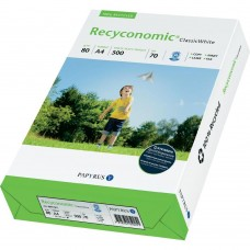 Hartie alba A4 80 g/mp 500 coli/top RECYCONOMIC Classic White