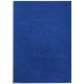 Coperti imitatie piele - albastru A4 250 g/mp 100 bucati/top FELLOWES Delta