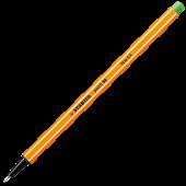 Fineliner 0.4mm verde deschis STABILO Point 88-43