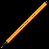 Fineliner 0.4mm negru STABILO Point 88-46