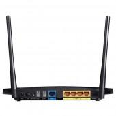 Router Wireless TP-LINK Archer C5 AC1200 Dual-Band 300 + 867Mbps WAN LAN USB 2.0 negru