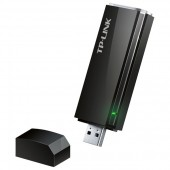 Adaptor USB Wireless TP-LINK Archer T4U Dual-Band 300 + 867Mbps negru