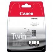 Cartus black 2 buc./set CANON PGI5BK Twin