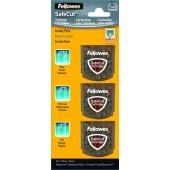 Lame pentru trimmere 3 tipuri/set FELLOWES SafeCut Cartridges