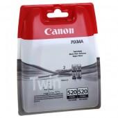 Cartus black 2 buc./set CANON PGI520BK Twin