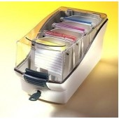 Cutie pentru dischete gri FELLOWES Softworks