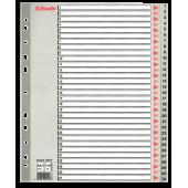 Index din plastic (PP) index 1-31 A4 ESSELTE Maxi