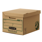 Container pentru arhivare 260 x 325 x 375mm kraft FELLOWES R-Kive