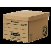 Container pentru arhivare 260 x 325 x 375mm kraft FELLOWES R-Kive