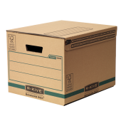 Container pentru arhivare 287 x 334 x 377mm kraft FELLOWES R-Kive Transit