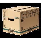 Container pentru arhivare 304 x 304 x 406mm kraft FELLOWES R-Kive Transit