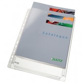 Fila din plastic A4 transparent 170 mic. 10 buc/set LEITZ Jumbo