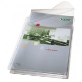 Fila din plastic A4 transparent cu clapa 170 mic. 5 buc/set LEITZ Jumbo