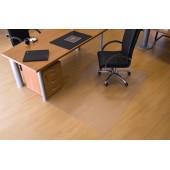 Protectie podea pentru suprafete dure forma O 300 x 120cm RS OFFICE EcoGrip