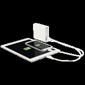Baterie externa cu USB 12.000 mAh alb LEITZ Complete