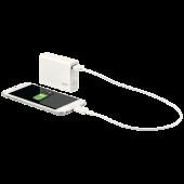 Baterie externa cu USB 6.000 mAh alb LEITZ Complete