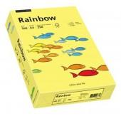 Hartie colorata A4 160 g/mp 250 coli/top galben (yellow) RAINBOW