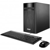 Desktop PC ASUS K31AN Tower Procesor Quad Core Intel® Pentium® J2900 2.41GHz Bay Trail 4GB 1TB GMA HD FreeDos Black