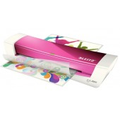 Laminator A4 roz metalizat Leitz iLAM Home Office