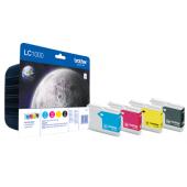 Cartus 4 culori/set BROTHER LC1000BK/C/M/Y