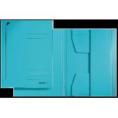 Mapa din carton A4 albastru LEITZ