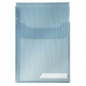 File din plastic cu eticheta albastru 3 buc/set LEITZ Jumbo CombiFile