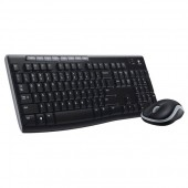 Kit tastatura + mouse wireless LOGITECH MK270 Black