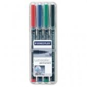Marker non-permanent 0.8-1mm albastru STAEDTLER Lumocolor