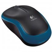 Mouse wireless LOGITECH M185 1000dpi albastru