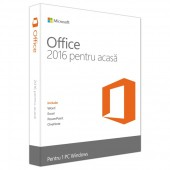 MICROSOFT OFFICE Home and Student 2016 Romanian 32-bit/x64 1 PC Medialess - FPP