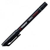Marker permanent 0.4mm negru STABILO OHPen S