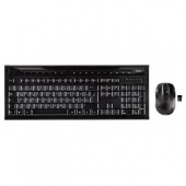 Kit tastatura si mouse wireless HAMA SE 3000 negru