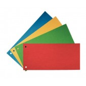 Separatoare din carton cu 2 perforatii 100 buc./set A4 verde Esselte