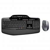 Kit tastatura + mouse wireless LOGITECH Desktop MK710