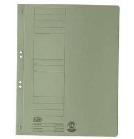 Dosar carton cu capse 1/1 ELBA - verde