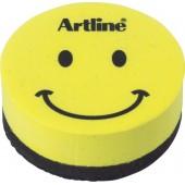 Burete magnetic ARTLINE Smiley, pentru table magnetice de scris