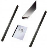 Bagheta A4 de legat documente 3 mm, 50/cutie LEITZ - negru