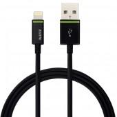 Cablu de date LEITZ Complete Lightning, port USB, 2m - negru