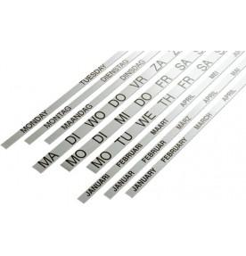 Banda magnetica (ian.-dec.) pt. planner anual vertical 90 x 120, SMIT